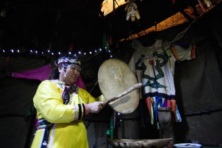 Удэгейка рассказала о своей религии и тяжелой женской доле