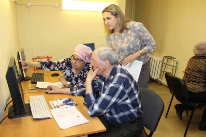 Приморские пенсионеры осваивают Интернет