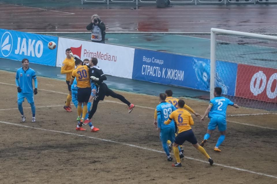 Приморский «Луч» сыграл вничью с калининградской «Балтикой»