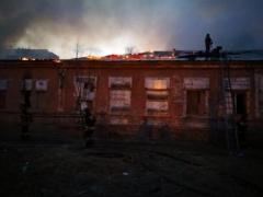 Во Владивостоке едва не сгорело здание туберкулезного диспансера