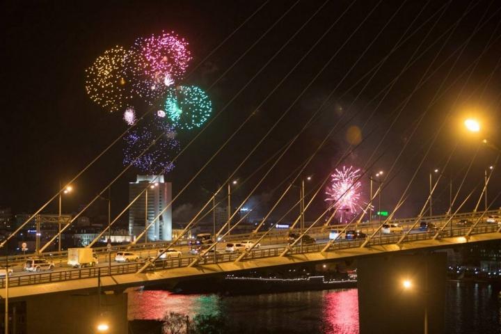 Фейерверк на 9 Мая запустят во Владивостоке с трех точек