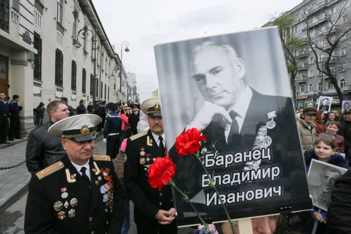 Стал известен маршрут, по которому пройдет «Бессмертный полк» во Владивостоке