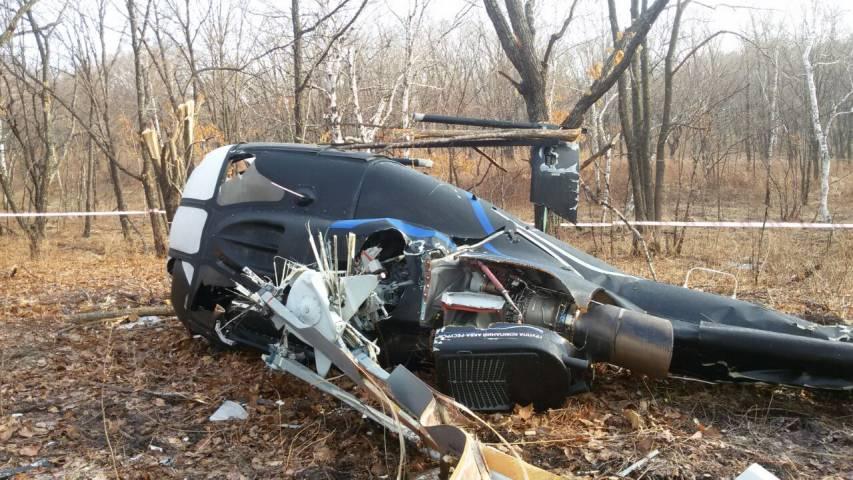 Следком установил причины крушения вертолета в Приморье