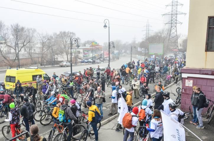 Велосезон-2017 стартовал во Владивостоке