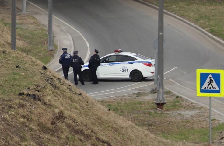 Жители Приморья помогли полицейским догнать водителя мопеда
