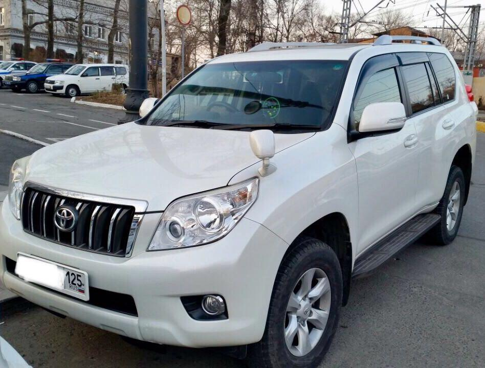 Приморец припарковал Land Cruiser Prado возле дома, а вернувшись, не узнал его