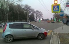 Приморец продемонстрировал мастерство «парковки» в Благовещенске