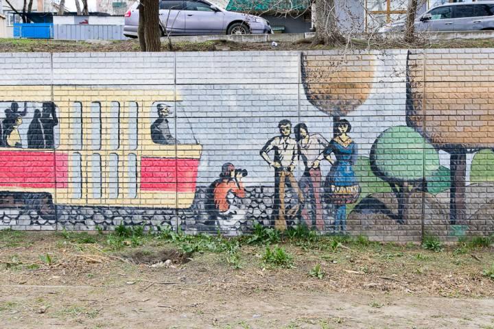 Топ-8 красиво оформленных подпорных стен Владивостока