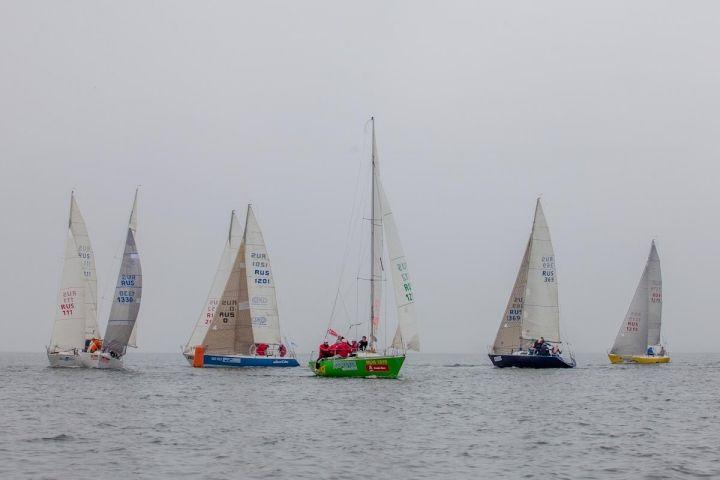 Экипаж из Владивостока занял 2 место в 1 этапе Национальной парусной лиги