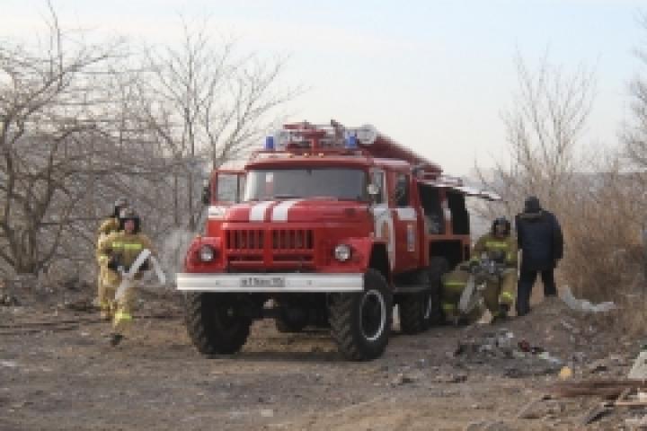 В Приморье сгорел один из цехов фабрики по производству дверей