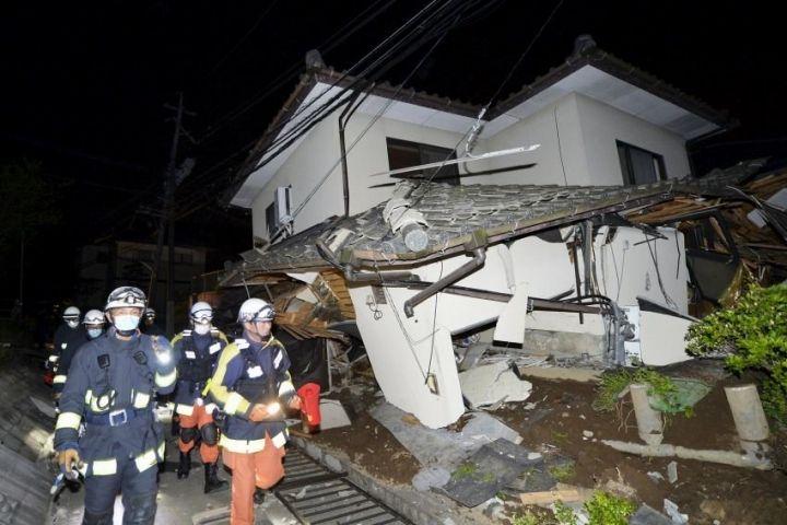 В Японии произошло землетрясение магнитудой 6,5