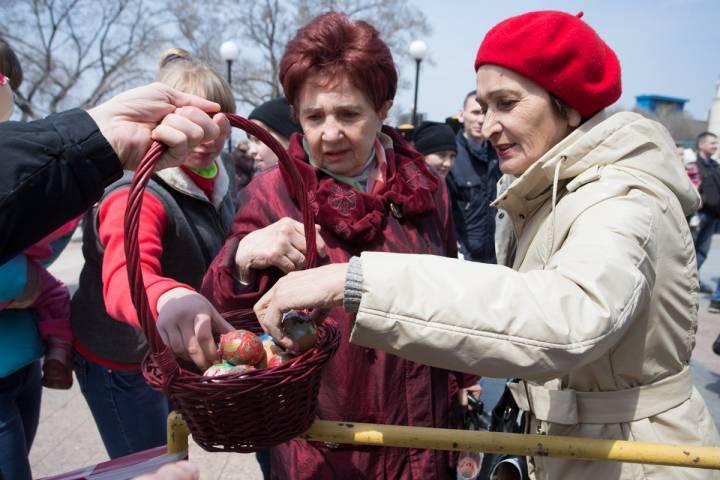 Праздник Светлой Пасхи отмечают приморцы 16 апреля