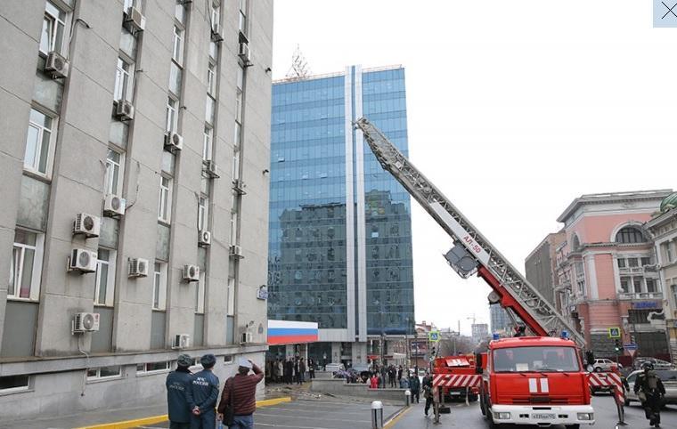 В администрации Владивостока эвакуировали всех сотрудников