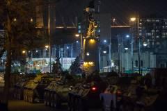 Во Владивостоке прошла первая репетиция парада Победы