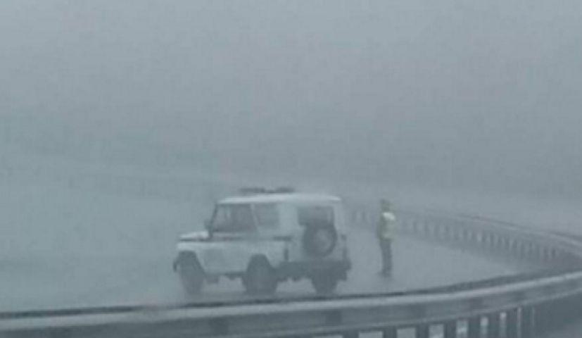 Трасса Седанка-Патрокл заблокирована из-за большого количества аварий