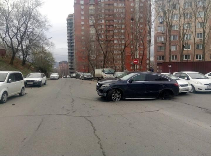 Полиция проведет проверку по факту массового ДТП во Владивостоке