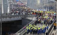 Золотой мост на один день откроют для пешеходов