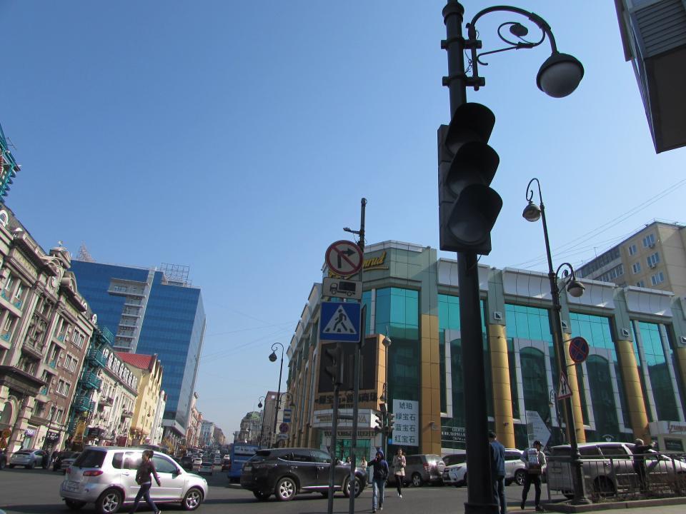 Стала известна причина отключения светофора в центре Владивостока