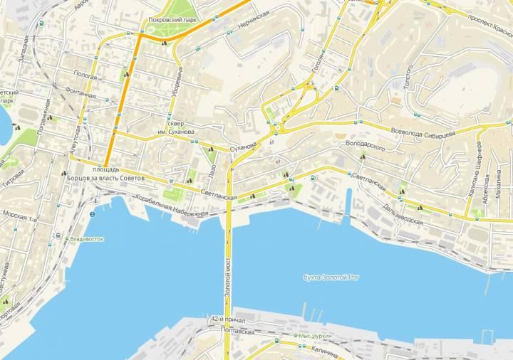 Схему движения изменят в центре Владивостока на 1 мая
