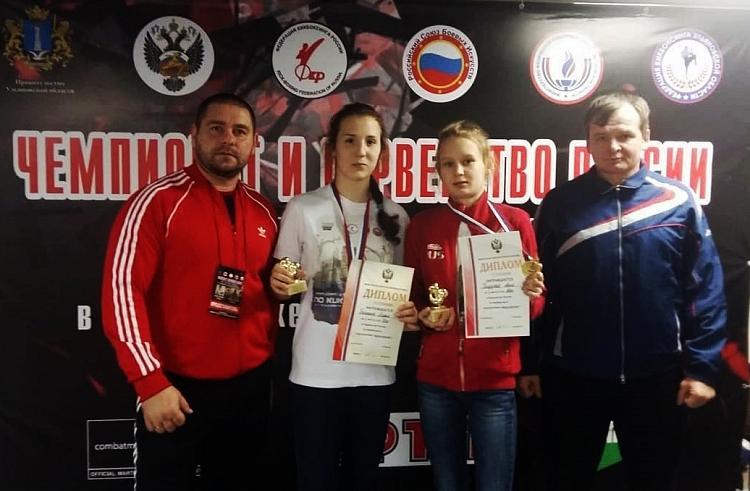 Юные спортсменки из Приморья взяли золото на первенстве России по кикбоксингу
