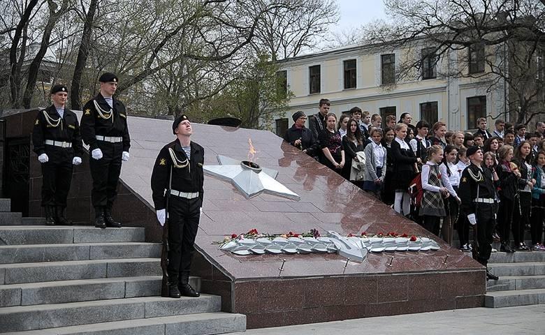 Вечный огонь из Владивостока отправится в Санкт-Петербург