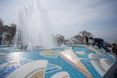 В День весны и труда во Владивостоке открылся сезон фонтанов