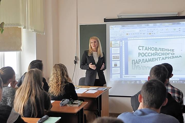 Депутат Законодательного Собрания Приморья провела открытый урок в школе села Вольно-Надеждинское