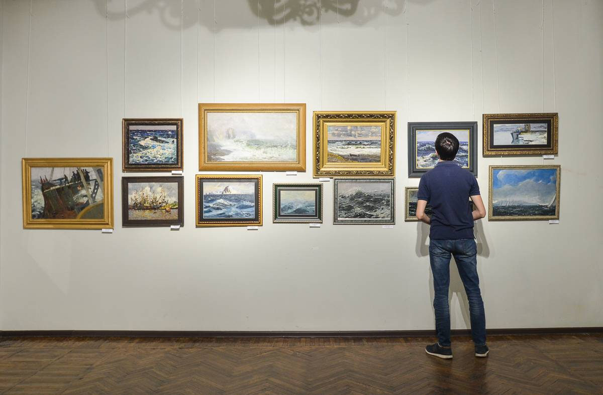 Во Владивостоке проходит выставка «Морская»