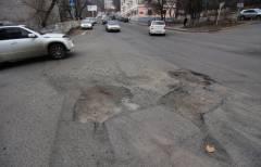 Ремонт дошел пока только до основных дорог Владивостока