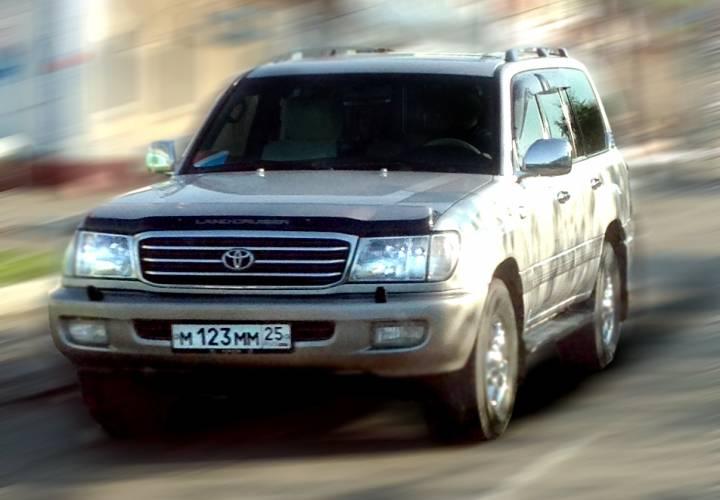 Житель Владивостока чуть не лишился Toyota Land Cruiser из-за долгов