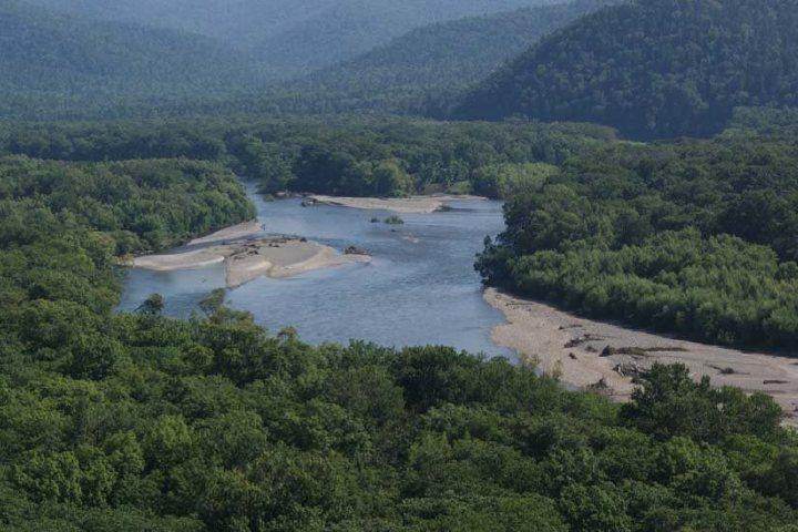 На реках Приморья отмечается подъем уровня воды