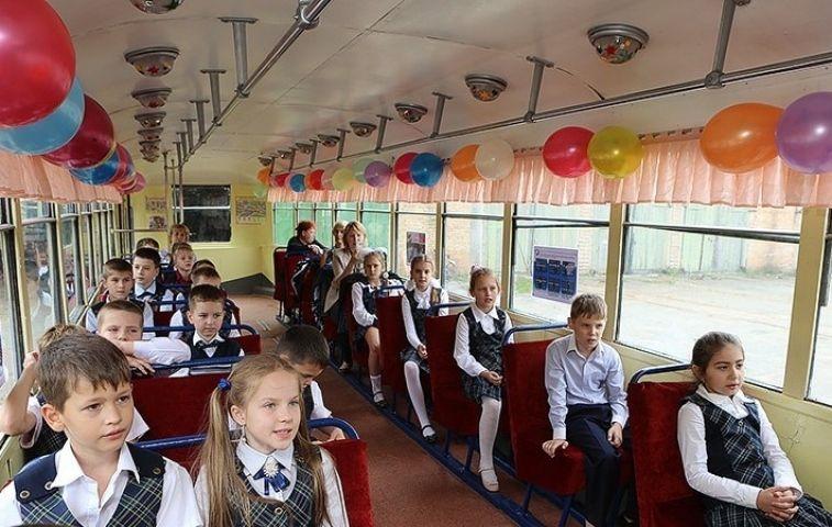 Сегодня в столице Приморья выйдет на линию «трамвай Победы»