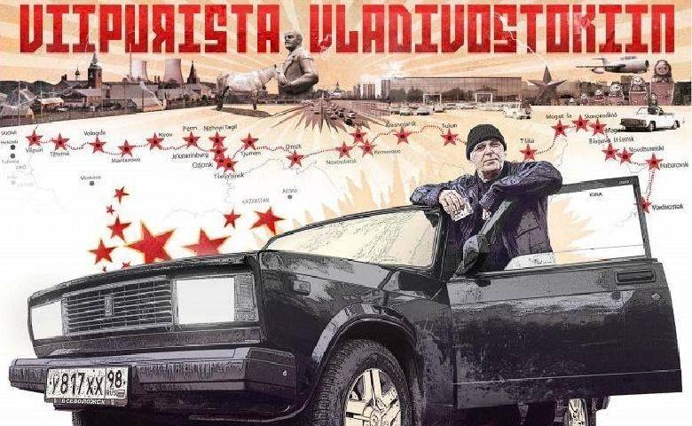 Финский журналист едет из Выборга во Владивосток через всю Россию