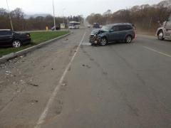 На трассе Артем – Находка произошло серьезное ДТП