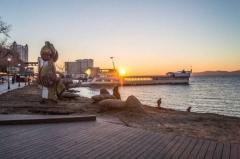 Необычный цвет морской воды напугал жителей Владивостока