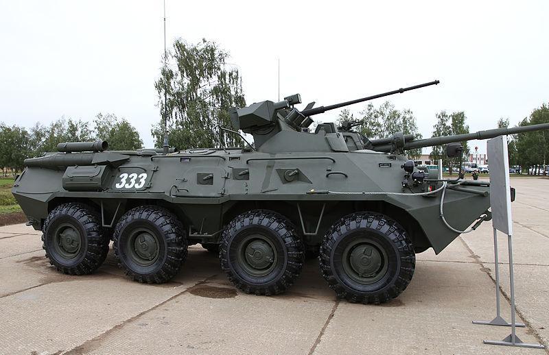 Воинские части Приморского края получили новую боевую технику