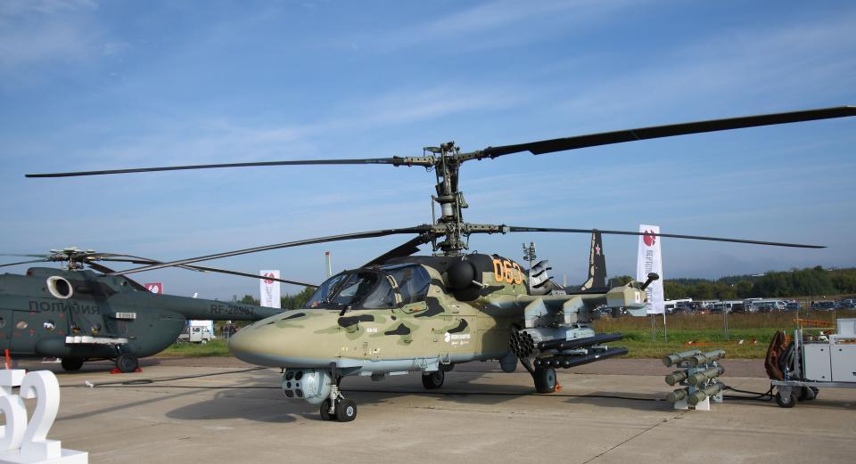 Вертолет родом из Приморья разбился в Сирии
