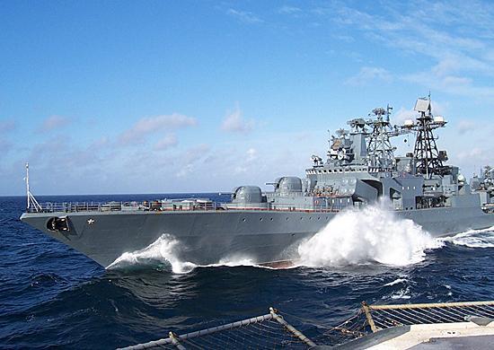 Отряд кораблей ТОФ отправился в поход на два месяца