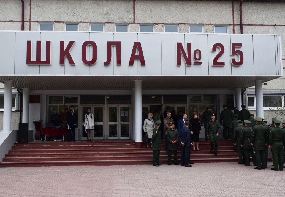 Школе № 25 города Уссурийска присвоено имяпогибшего в Сирии Героя Российской Федерации