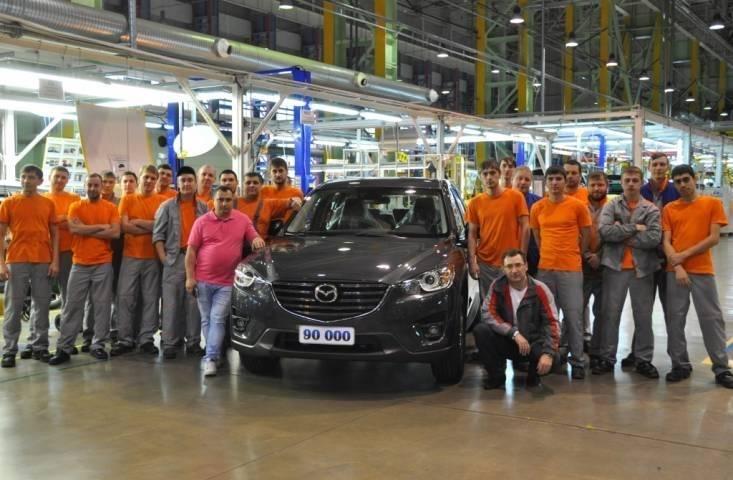 Mazda расширит модельный ряд выпускаемых во Владивостоке автомобилей