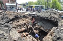 Ремонтные работы теплотрассы на улице Уборевича во Владивостоке скоро завершатся