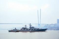 Крейсер «Варяг» принял участие в совместных учениях в Сингапуре