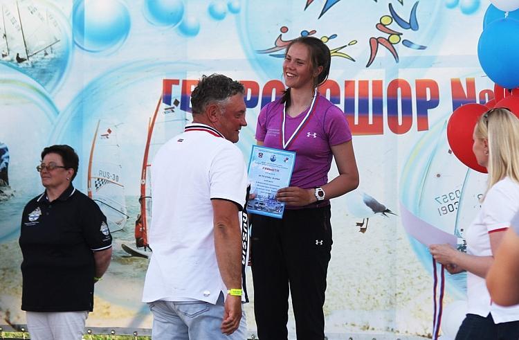 Бронзовую медаль завоевала 16-летняя яхтсменка из Владивостока на всероссийских соревнованиях