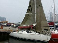Яхту «Элфин» задержали из-за южнокорейских наклеек на борту