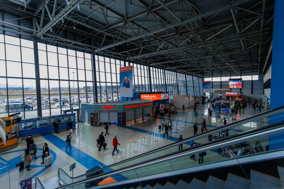 Пассажиропоток в аэропорту Владивостока растет высокими темпами