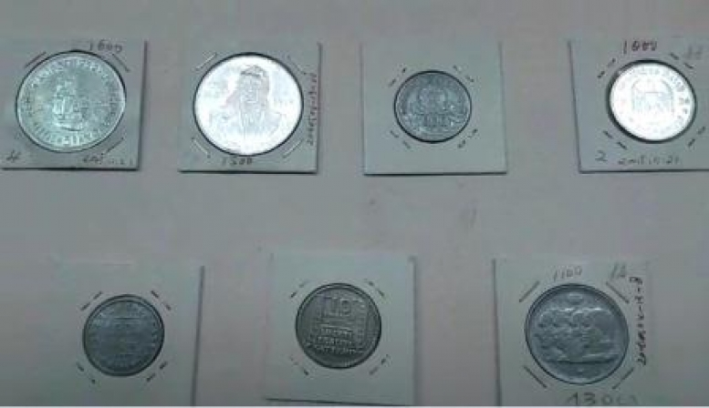 Гражданин Китая задержан за попытку вывоза из Приморья старинных монет