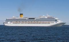 Трансокеанский лайнер «Costa Victoria» впервые посетит Владивосток