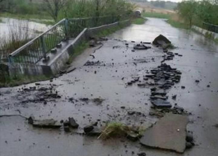 Обрушившийся мост в Яковлевке восстановят нескоро