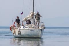 Яхту «Элфин» встретили во Владивостоке