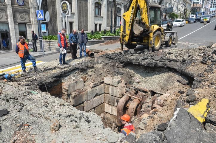 Владивосток уходит под землю?